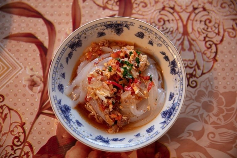 ashlan fu, ashlan-fu, ashlyan-fu, ashlyan fu, ashlanfu, ashlyanfu, Dungan food, Dungan family meal, Dungan meal, Dungan food, Kyrgyzstan, Karakol, Karakol food, Karakol restaurants