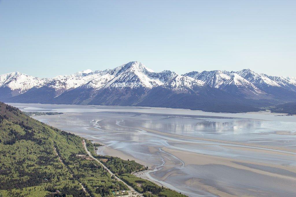 10 day Alaska itinerary, Bird Ridge, Bird Ridge Alaska, Cook Inlet, Anchorage day hikes, Alaska