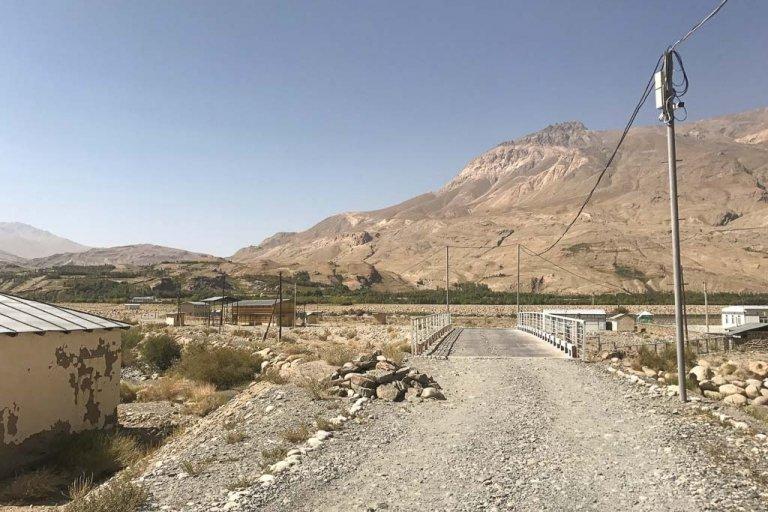 Ishkashim border crossing, Tajikistan Afghanistan border crossing