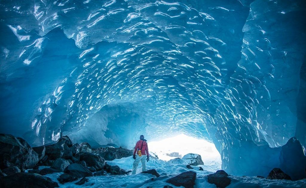 Byron Glacier, Byron Glacier Ice Cave, Ice Cave, Alaska, Anchorage day hikes