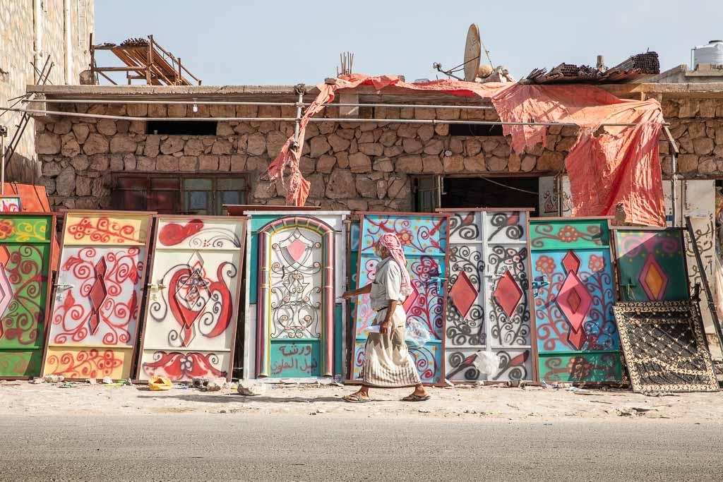 Socotra, Socotra Island, Yemen, Hadiboh, Hadiboh doors, colorful doors, Socotra doors, Hadiboh door, Socotra door, Yemen door