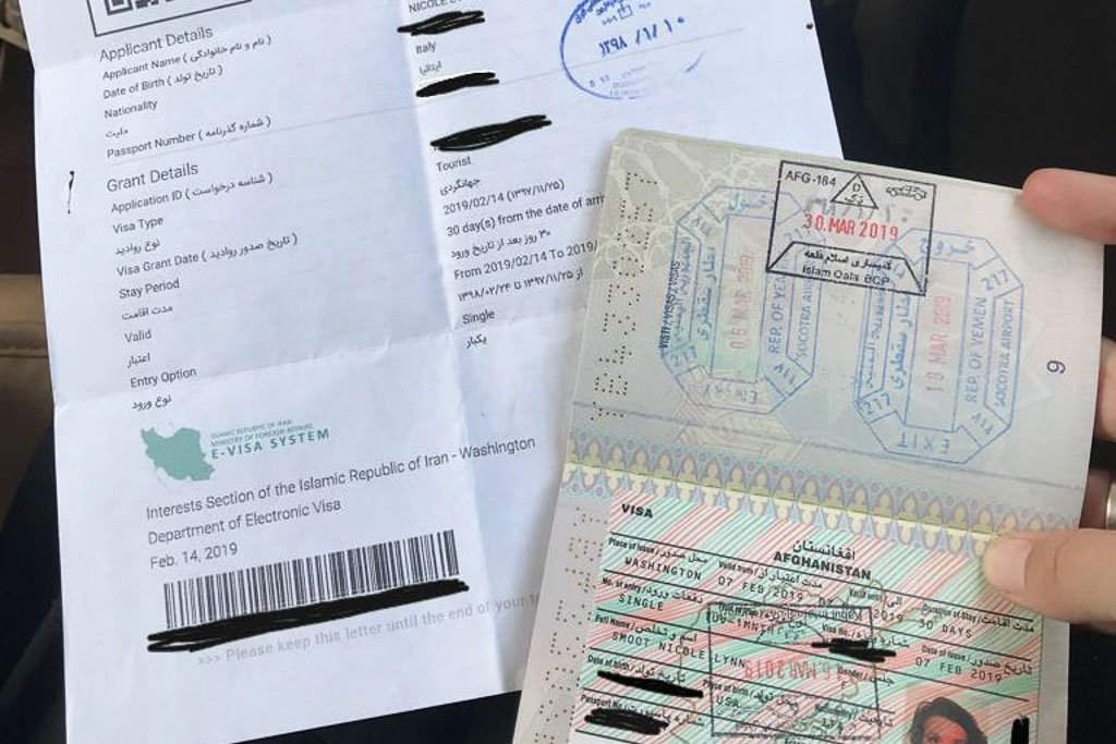 How To Get An Iranian Visa In 2020 The Adventures Of Nicole