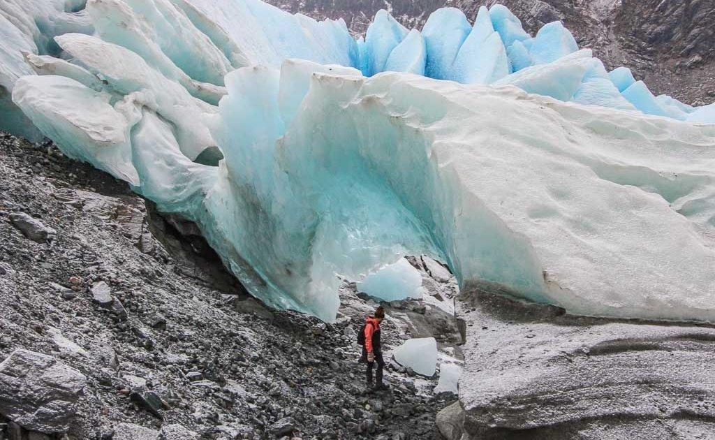 Mendenhall Glacier, Juneau, Alaska, Mendenhall ice caves