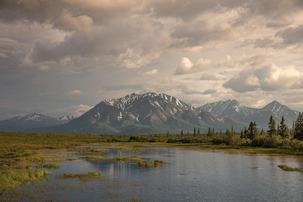 Denali Highway, Alaska, Susitna River