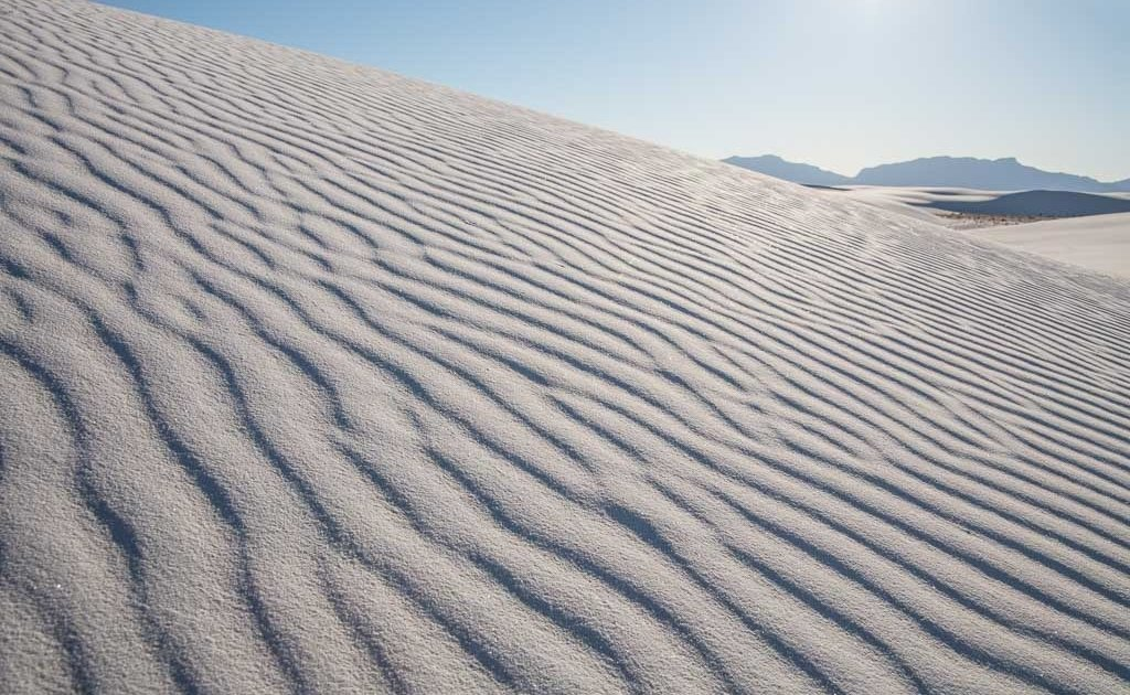 White Sands National Park, New Mexico, gypsum