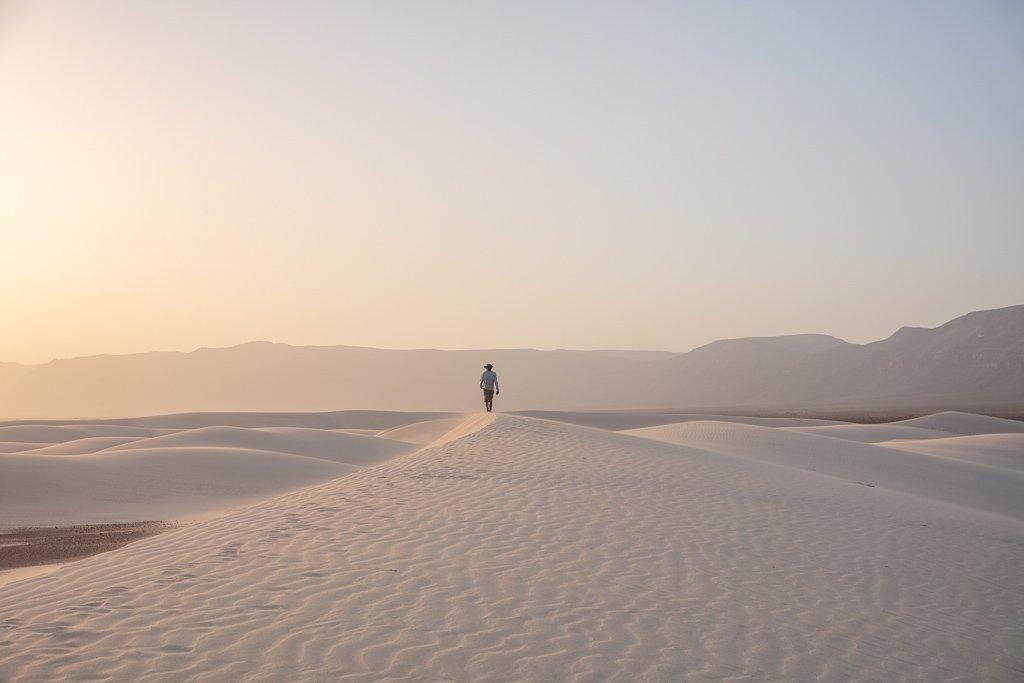 Socotra, Socotra Island, Yemen, Zahek, Zaheq, Zahek sand dunes, Zahek dunes, Socotra sand dunes sunset