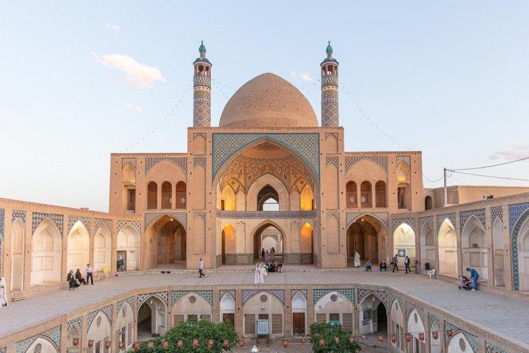 Agha Bozorg, Agha Bozorg Mosque, Kahsan Mosque, Mosque, Kashan, Iran