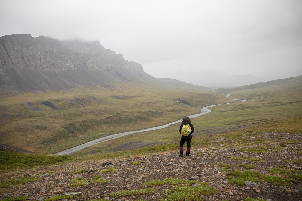 Atigun Gorge, Arctic National Wildlife Refuge , Alaska, ANWR, Alaskan Arctic, Arctic, Northern Alaska, Atigun, Atigun River