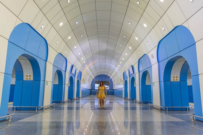 Baikonur, Baikonur Metro station, Almaty, Almaty, Kazakhstan, Almaty Metro