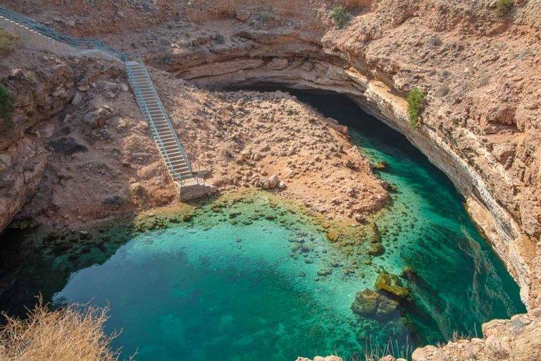 Bimmah, Bimmah Oman, Bimmah sinkhole, Bimmah sinkhole Oman, Oman, Oman roadtrip, Oman road trip, Oman on a budget, one week in Oman, 7 days Oman