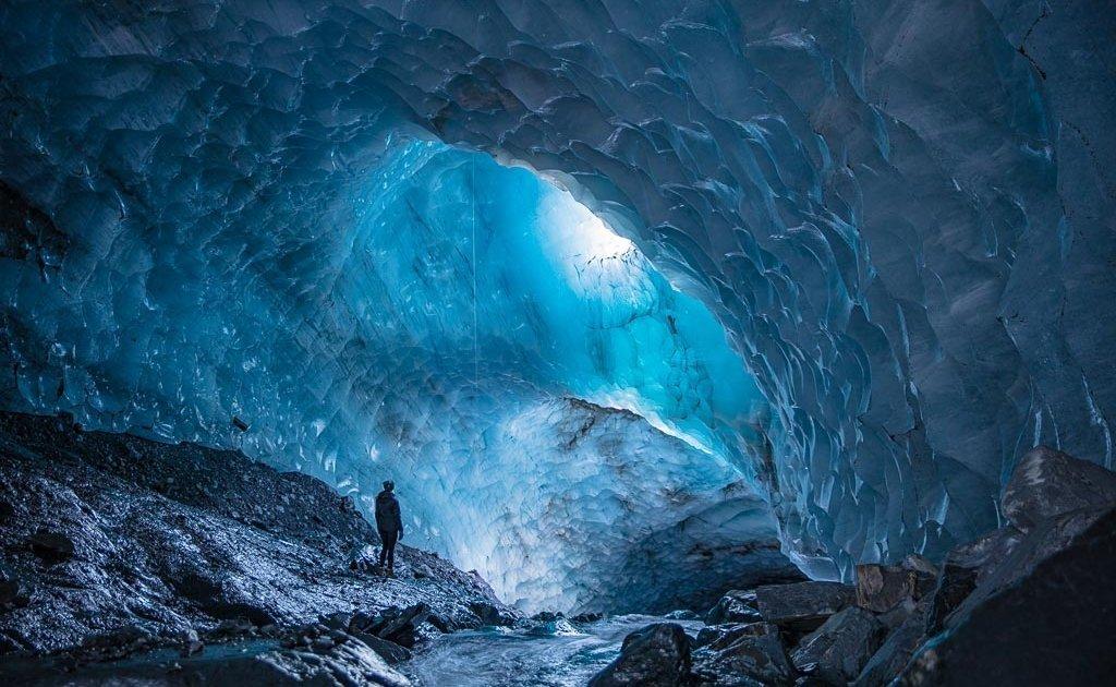 Byron Glacier Ice Cave, Byron Glacier, Girdwood, Alaska, ice cave, glacier, Alaska glacier, Alaska ice cave