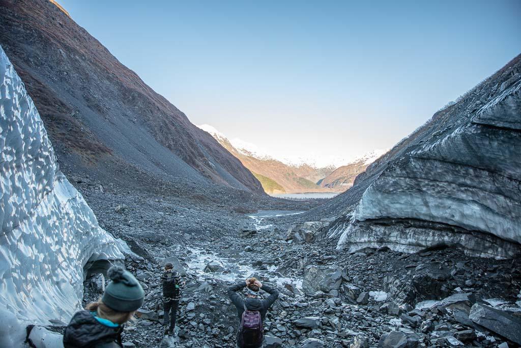 Byron Glacier, Girdwood, Alaska, Portage Lake