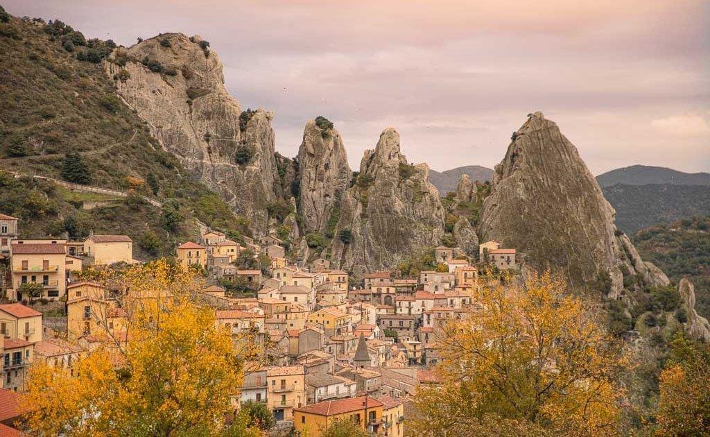 Castelmezzano, Potenza, Basilicata, Southern Italy, Italy