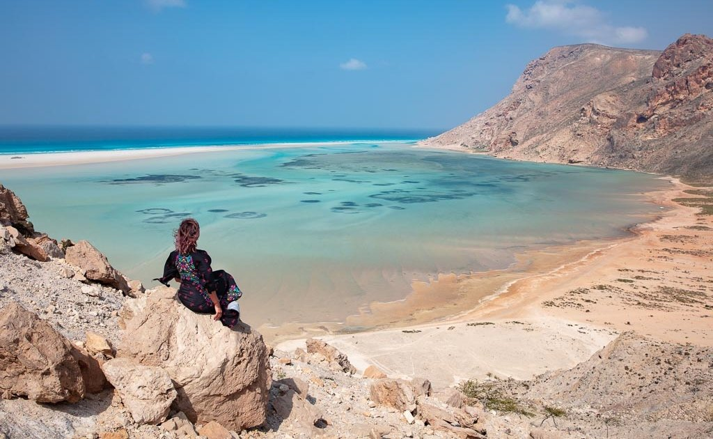 Socotra, Socotra Island, Yemen, Detwah Lagoon, Detwah, Detwah Lagoon overlook