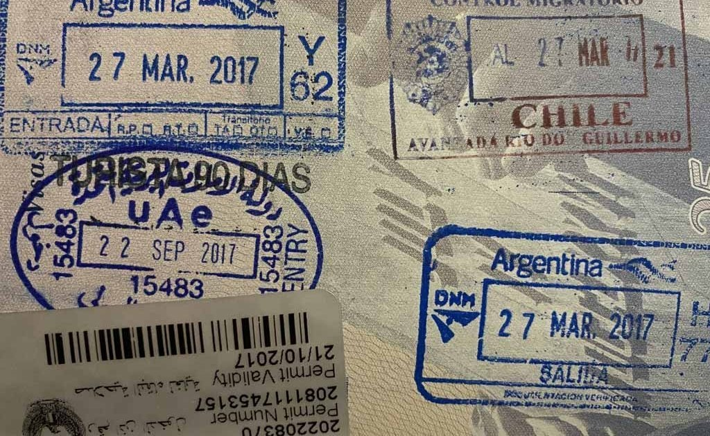 Dubai Oman Common Visa, Dubai Visa, UAE Visa, United Arab Emirates Visa, Chilean Visa, Cile Visa, Argentina Visa, Argentinian Visa, UAE entry stamp, United Arab Emirates entry stamp, Chile entry stamp, Chilean entry stamp, Argentina entry stamp, Argentinian entry stamp