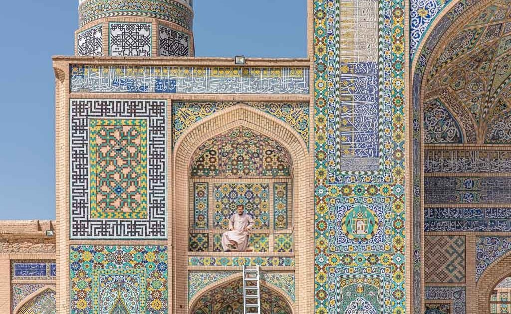 Afghanistan Travel, Afghanistan travel guide, Friday Mosque, Friday Mosque Herat, Herat, Great Mosque of Herat, Afghanistan