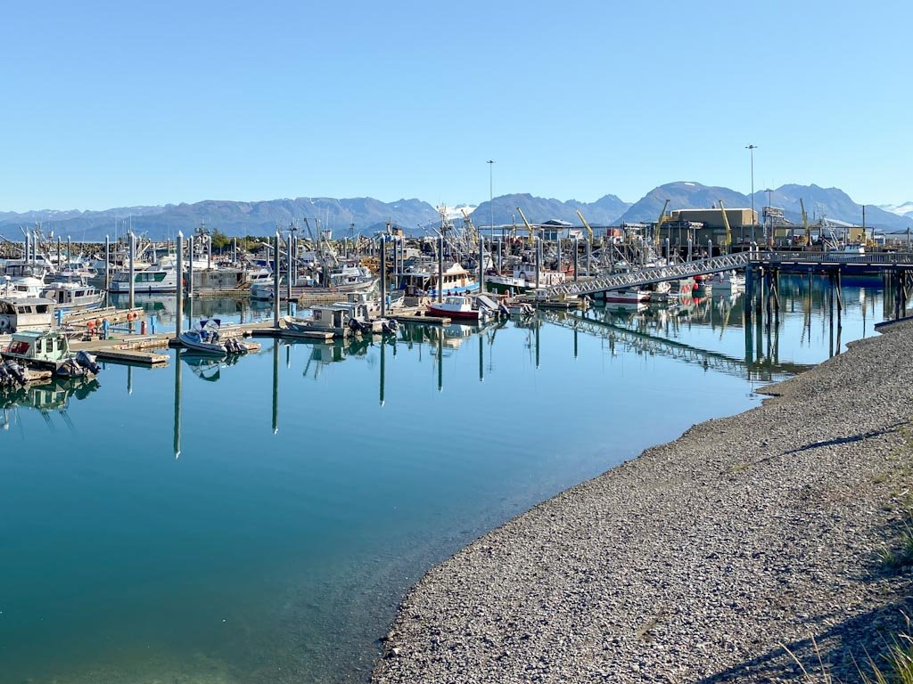 Homer Harbor, Kachemak Bay, Alaska