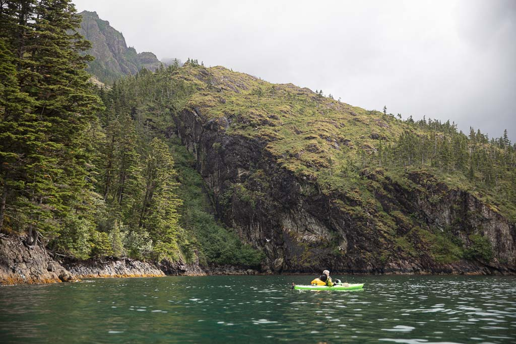 Kayaking, Resurrection Bay, Seward, Alaska, Kayaker's Cove, Humpy Cove, Kayak