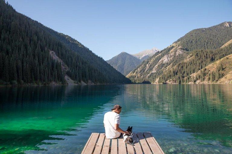 Kolsai Lake, Kolsai Lakes, Kolsai 1, Kazakhstan, Kolsai I, Tien Shan, Pearls of the Tien Shan, Pearl of the Tien Shan