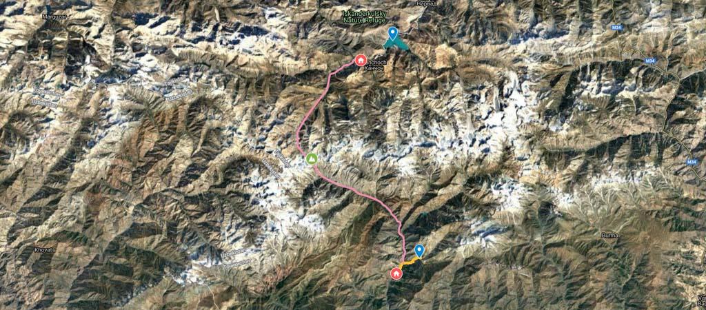 Mura Hike Map