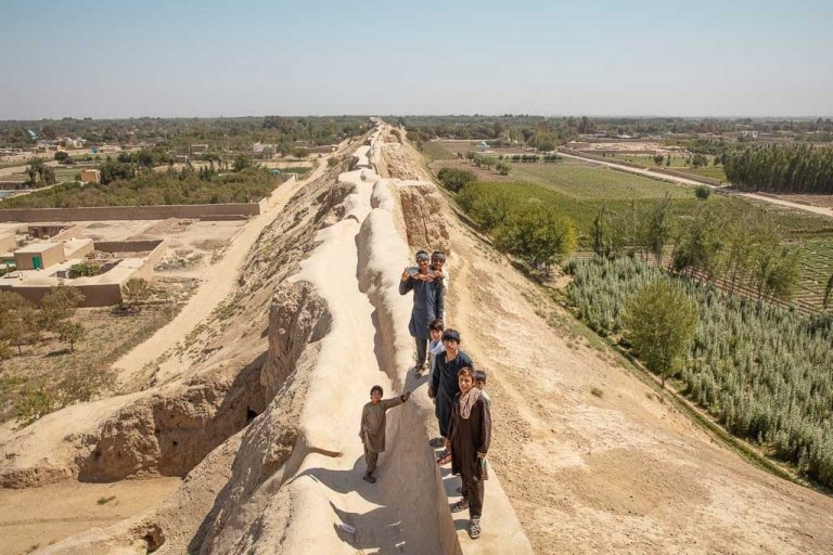 Old Balkh, Balkh, Bactria, Walls of Balkh, Balkh Walls, Ancient Bactria, Bactria Walls