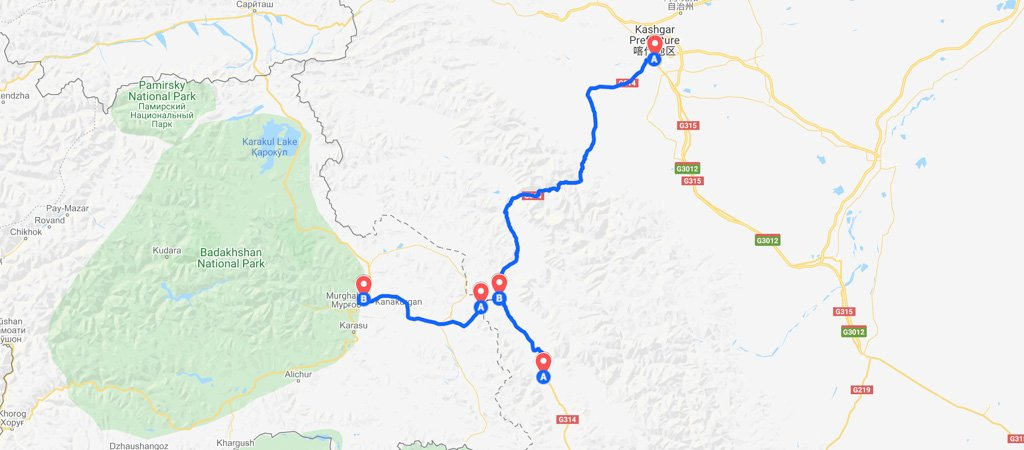 Qolma Pass Map
