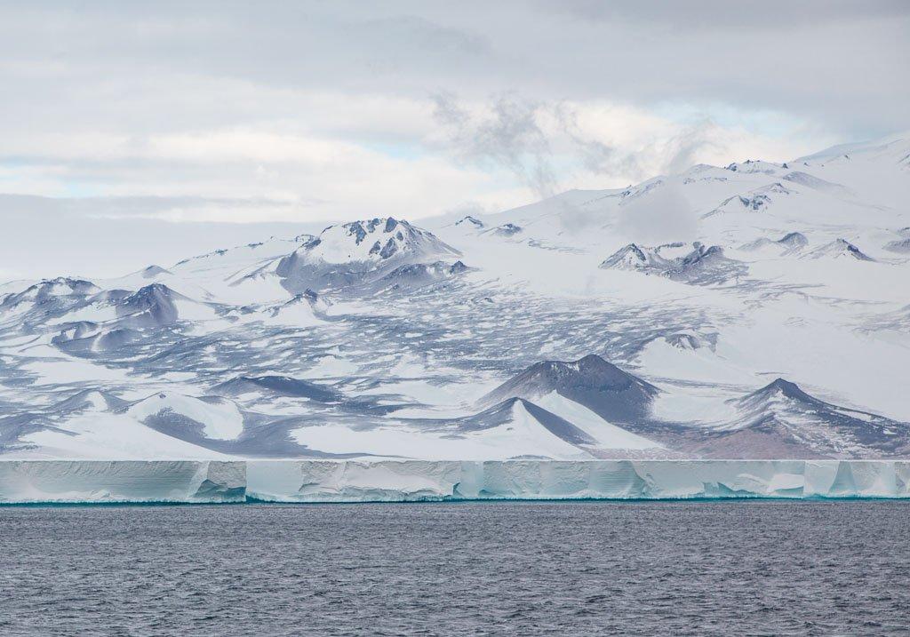 Ross Ice Shelf, Ice Shelf, Ross Sea, Antarctica