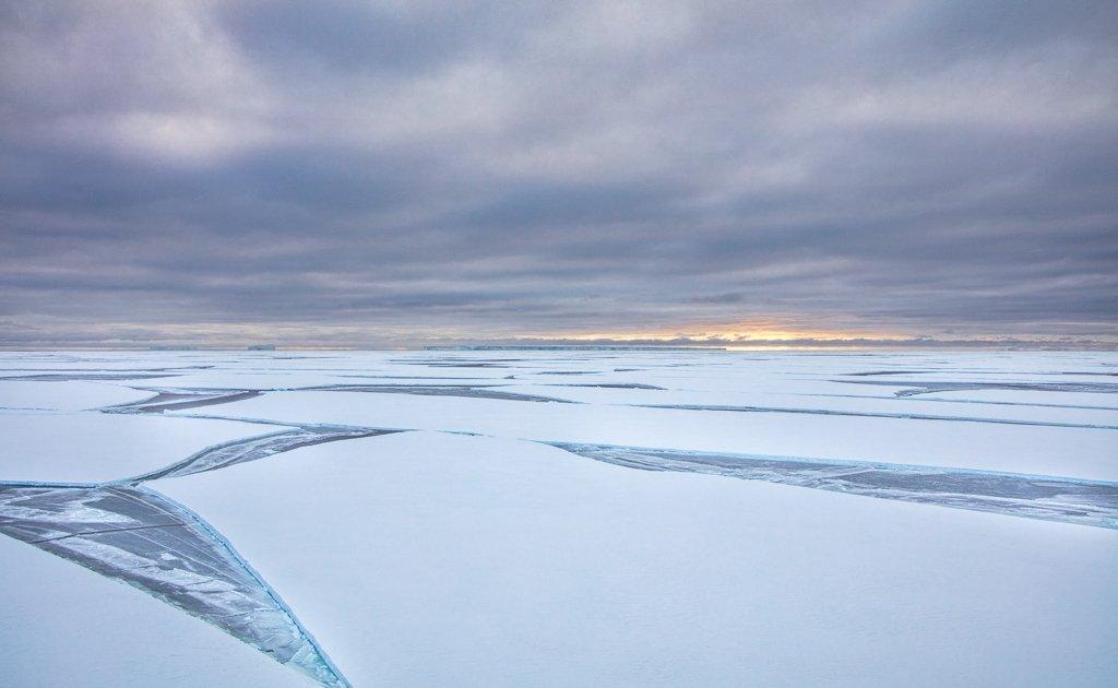 Ross Sea, McMurdo Sound, Antarctica, ice
