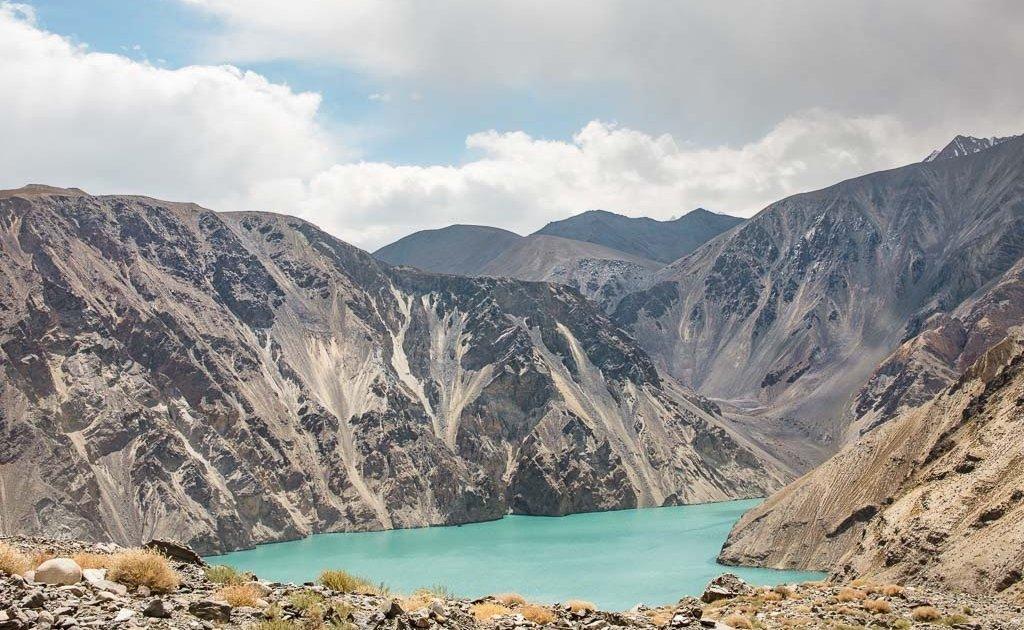 Shadau, Shadau Lake, Shadau Lake Tajikistan, Lake Sarez, Sarez, Tajikistan, Pamirs, GBAO, Badakhshan, Gorno Badakhshan, Pamir, Pamir Mountains, Bartang
