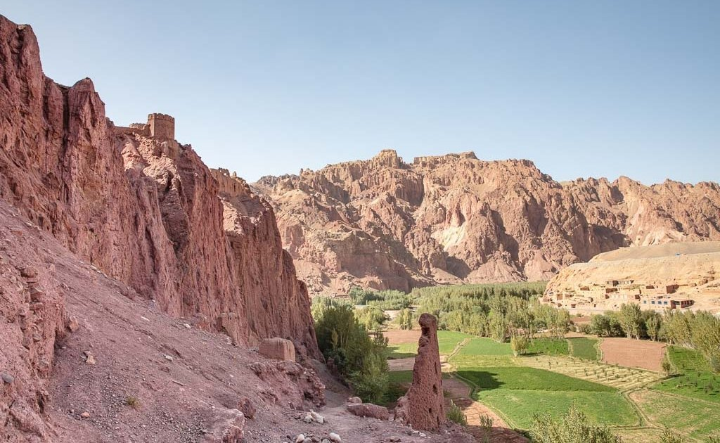 Shahr e Zohak, Red City, Bamyan, Afghanistan