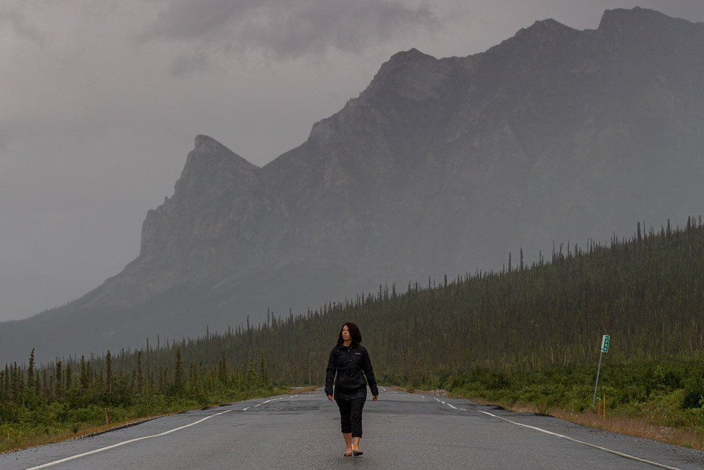 Dalton Highway, Haul Road, Alaska, Arctic, Northern Alaska, Sukakpak Mountain, Sukakpak, Coldfoot, Wiseman