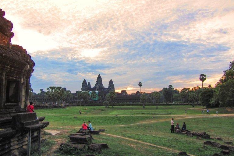 Angkor Wat, Angkor Wat sunrise, Cambodia