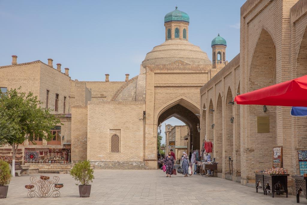 Toqi Sarrofon Covered Bazaar, Bukhara, Uzbekistan