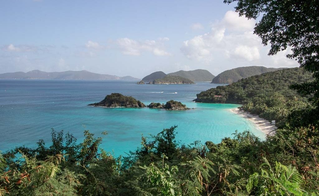 How to Visit Trunk Bay on a St. Thomas cruise ship stop, Trunk Bay, St John, USVI, Virgin Islands National Park