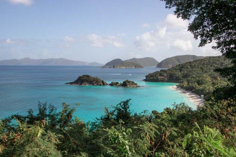 How to Visit Trunk Bay on a St. Thomas cruise ship stop, Trunk Bay, St John, USVI, Virgin Islands National Park