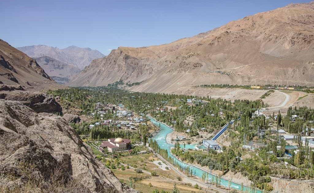 10 reasons to visit tajikistan, Khorog, Ghunt River, Tajikistan, Pamir, Pamir Highway, khorog botanical gardens