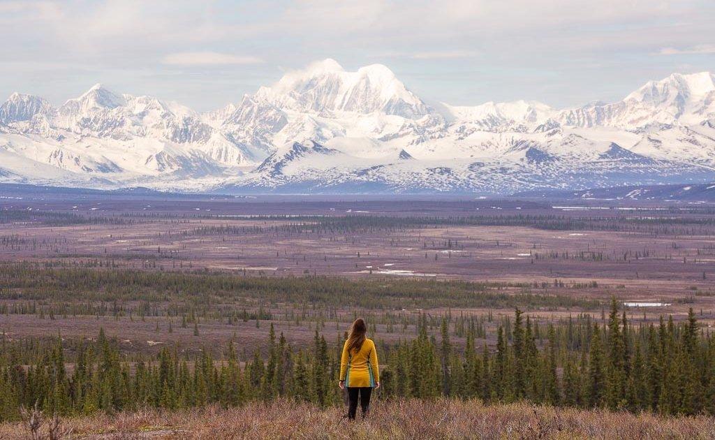 Mount Hayes, Alaska Range, Eastern Alaska Range, Denali Highway, Alaska
