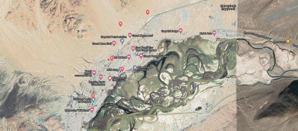 Murghab Map