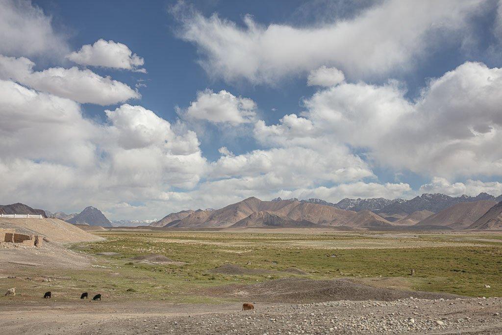 Toktymush, Ak Suu, Aksu, Ak Suu Valley, Aksu Valley, Tajikistan, Eastern Pamir