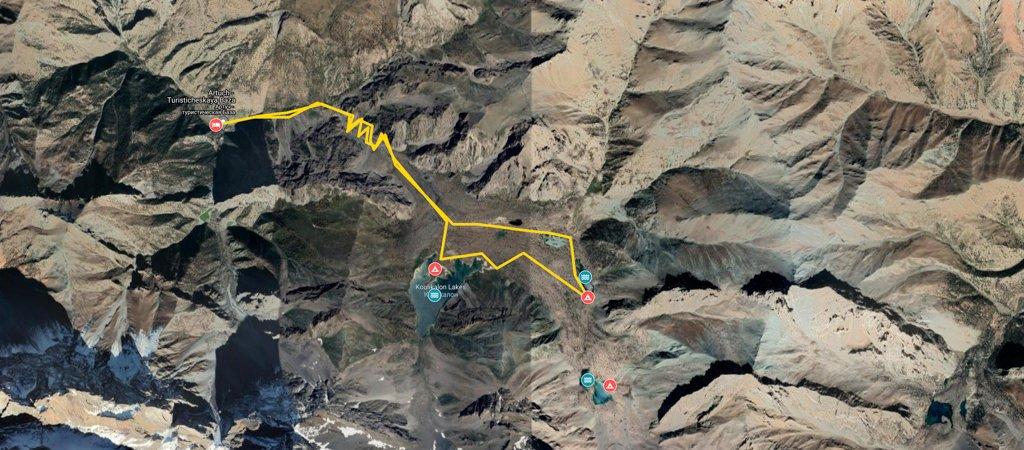 Artuch to Kulikalon Map
