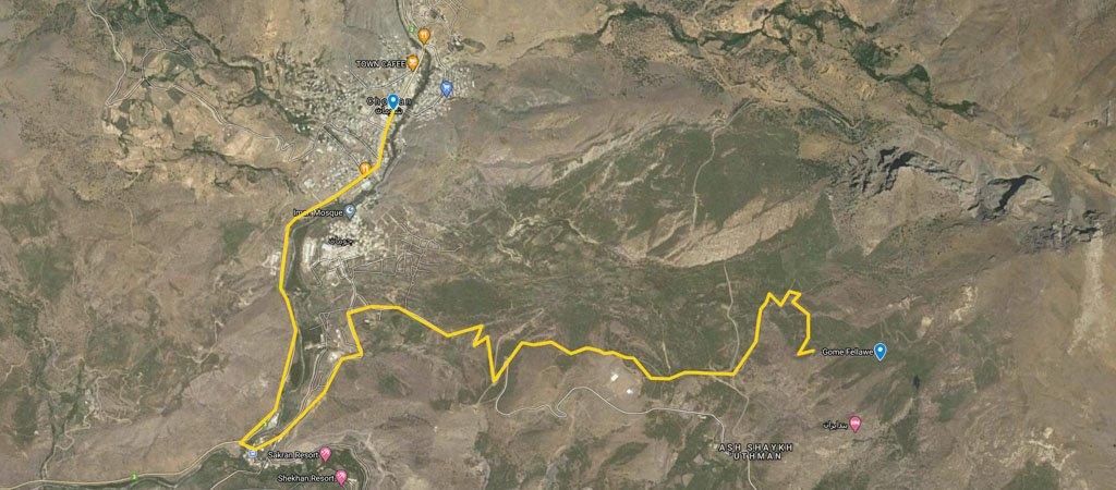Gomi Felaw Map