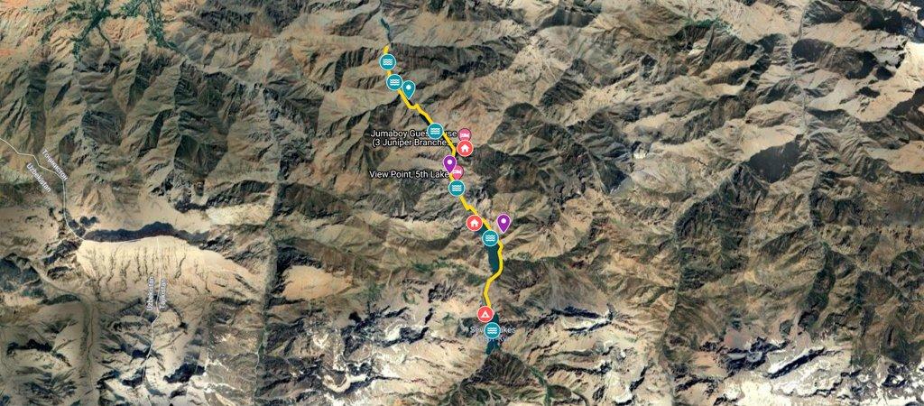 Haft Kul Map