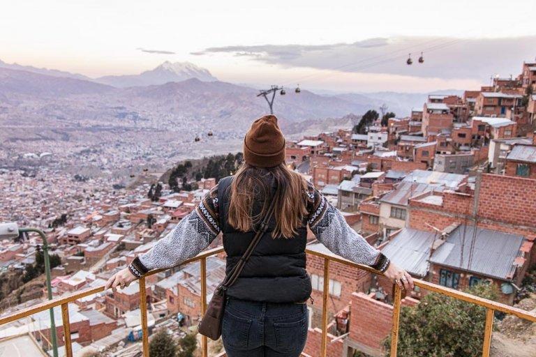 Mi Teleferico, La Paz Bolivia, La Paz, El Alto, South America