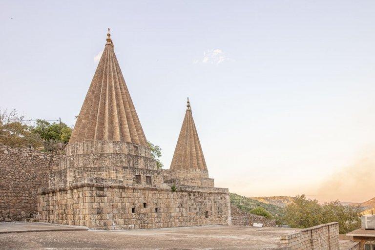 Tomb Of Sheikh Adi Ibn Musafir, Lalish, Yazidi, Iraq, Iraqi Kurdistan, Lalish, Yazidi, Iraq, Iraqi Kurdistan