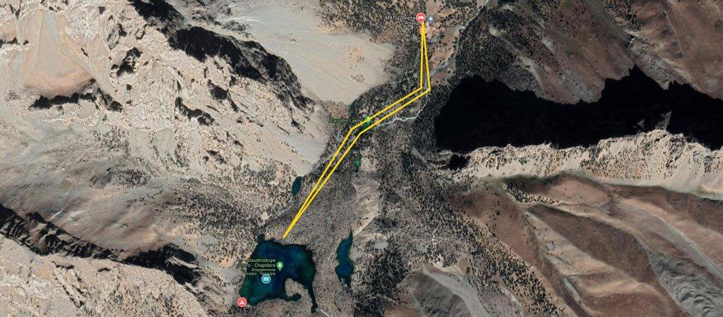 Vertical Alovaddin to Alovaddin Map
