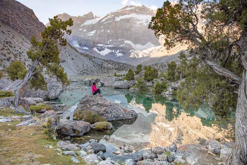 Bibijonat, Kulikalon, Fann Mountains, Tajikistan, Sughd, Central Asia