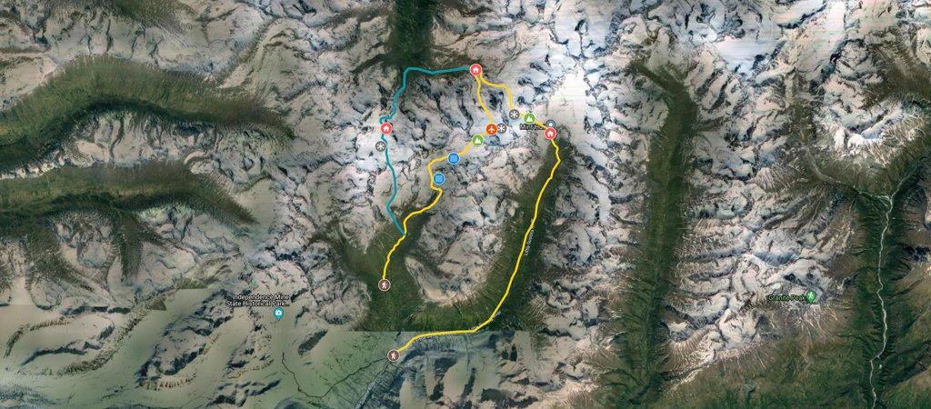 Bomber Traverse Map
