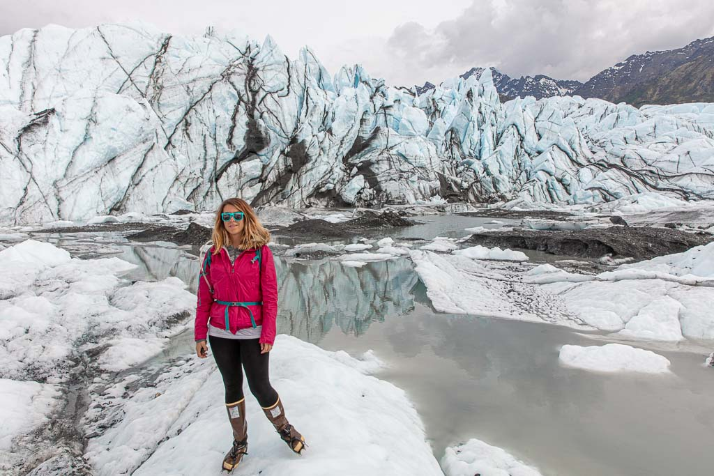 Matanuska, Matanuska Glacier, Alaska, how much does it cost to travel in Alaska