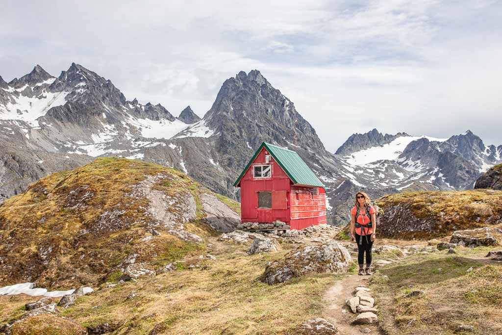 Alaska, Hatcher Pass, Bomber Traverse, Talkeetnas, Talkeetna Mountains, Goldmint, Goldmint Trail, Goldmint Hike, Mint Hut, Rainey hut, Mint Rainey hut,