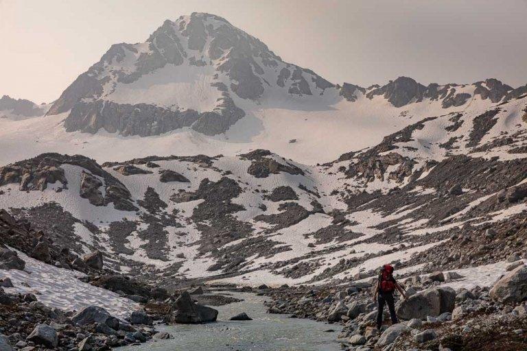 Snowbird-Bomber Hike, Hatcher Pass, Alaska